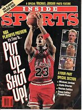 1991 (May) Inside Sports  Basketball magazine  Michael Jordan  Chicago Bulls~ Fr