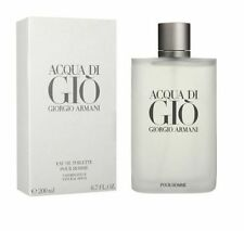 Acqua Di Gio Giorgio Armani Men 6.7 OZ 200 ML *Eau De Toilette* Spray Nib Sealed