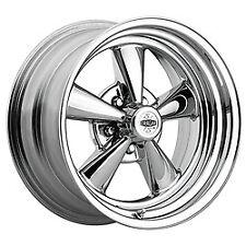 14x6 Cragar 08/61 S/S Chrome 2-Piece Composite Wheels 5x4 (-3mm) Set of 4