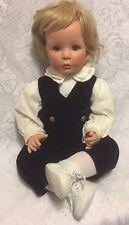 "Vtg Love Me True Doll Susan Wakeen 20"" Boy Blonde Blue-Eyed Baby 1994/96"
