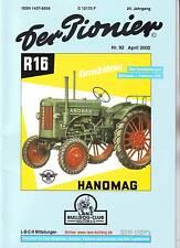 Der Pionier/Nr. 92/Hanomag Historie R16-R28 (Fortsetzung)/Rapid Motormäher