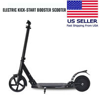 """Electric Scooter, 8"""" Wheel, Lightweight,Easy to fold, Kick-Start booster scooter"""
