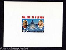France (Wallis & Futuna) - 1979 Popes - U/M - SG 304-6 Epreuve de Luxe