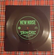 """White Lies 7"""" flexi disc by Iron Chic vinyl limited edition brand new"""