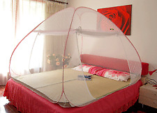 Queen size Branded Portable & Foldable Double Bed Sized Folding Mosquito Net