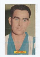 ALAN FINNEY SHEFFIELD WEDNESDAY 1950-1966 ORIGINAL HAND SIGNED MAGAZINE CUTTING