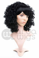 Heat-resistant Garnet Steven Universe Thick Curly Fluffy Cosplay Wig With Bangs