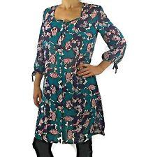 Anita MEDIUM Marbella Swim Cover Up Dress Blouse 8689 Floral (B-17)