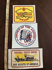 50 MILER /Order Of The Arrow/ Historic Trail Award DECAL/STICKER BOY SCOUT