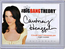 Big Bang Theory Cryptozoic Autograph A11 Courtney Henggeler