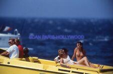 JOHNNY HALLYDAY 80s DIAPOSITIVE DE PRESSE ORIGINAL VINTAGE #032