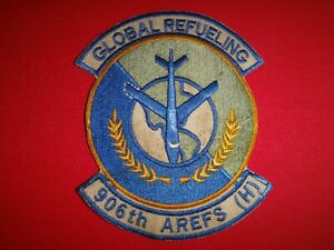 US Air Force 906th Air Refueling Squadron GLOBAL REFUELING Vietnam War Patch