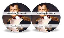 316 Rare Books on DVD Napoleon Bonaparte Battle of Waterloo Campaign Memoirs 64