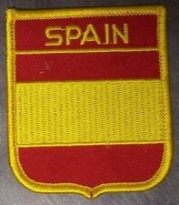 Embroidered International Patch National Flag of Spain NEW bunting