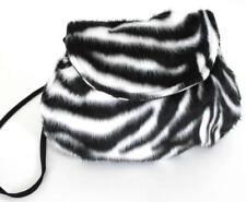 Tasche Zebra Karneval Kostüm Zubehör Tiertasche Plüsch