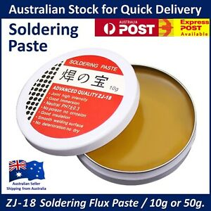 Soldering Flux Paste ZJ-18 Rosin - High Intensity Solder Welding - 10g or 50g