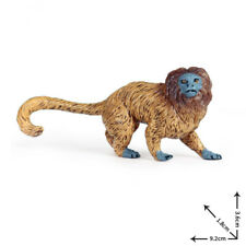 Golden Lion Tamarin Monkey Model Orangutan Animal Gift Collector Kids Toys