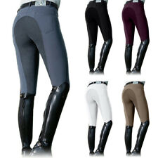 Active Women's Horse Riding Pants Breeches Full Seat Tights Horse Pants Trousers