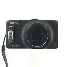 Nikon COOLPIX S9300 16.0MP Digital Camera - Black (C-1)