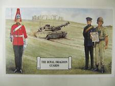 The Royal Dragoon Guards - Military Postcard (Geoff White Ltd.) Stone Henge