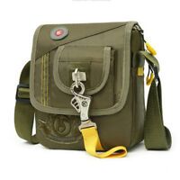 Sport Men Nylon Flap Purse Travel Hiking Cross Body Shoulder Messenger Bag New