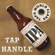 LAGUNITAS IPA craft Beer Bottle Tap Handle marker Doggone Good! DOG tapper knob