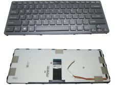 Sony Vaio E-Series SVE14 SVE14AJ16L Keyboard 012-010B-8968-A (RF) 9Z.N6BLF.C01