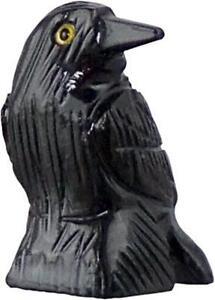 "1.25"" Solid Black Onyx RAVEN Pocket Spirit Totem!"