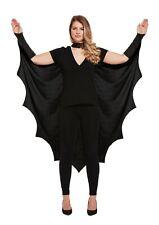 Adult Gothic Vampire Bat Wings Costume Cape Fancy Dress Halloween Cape Cloak