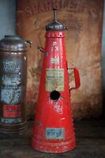 Rare ANTIQUE Vintage Industrial CONE SHAPE FIRE EXTINGUISHER - (Empty)