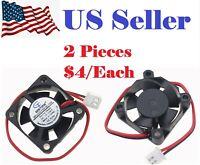 2PCs Gdstime Cooling Computer Fan 3010 30x30x10mm 12V Brushless DC Cooling Fan