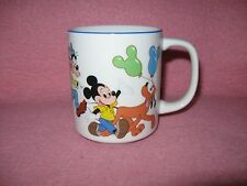 Disneyland Walt Disney World Coffee Mug Mickey Minnie Pluto Goofy Donald