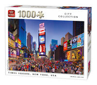1000 Piece City Collection Jigsaw Puzzle Times Square New York USA 5707