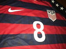 JORDAN MORRIS 2017 Gold Cup Nike Vapor match US soccer Jersey (M) USA Authentic