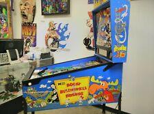 Rocky and Bullwinkle pinball machine