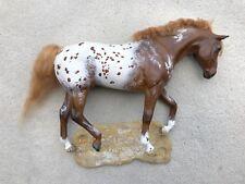 Vintage DRASTIC Custom CM Breyer Horse Appaloosa Trakehner Glass Eyes R. Foust