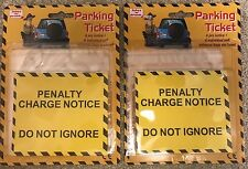 12 x Fake Parking Tickets  (Joke Penalty Charge Notice Fines Funny Prank)