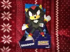 "TOMY SHADOW Sonic The Hedgehog Plush 12"" SEGA Toy Doll 2018 Collector Series"