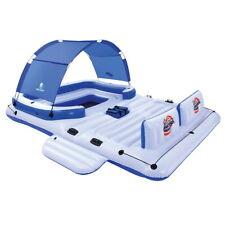 Bestway Coolerz Inflatable Tropical Breeze Flaoting Island Pool Raft - Blue/White