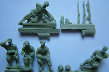 Waffen SS Heavy Field Car Crew Milicast FIG029 resin figures 1/72