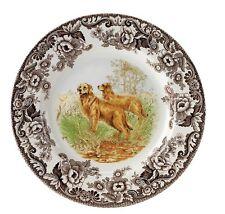 "Spode Woodland ""Golden Retreiver""  Dinner Plate"