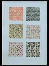 ORNEMENTATION ART DECO -1924- LITHOGRAPHIE, IRENE GUNTHER