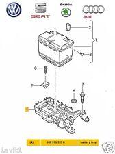 NUOVO Originale VW AUDI SEAT SKODA battery mount 1k0915333h