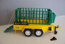 PLAYMOBIL (P605) SAFARI - Remorque avec Cage de Transport Animaux 3529 Complète