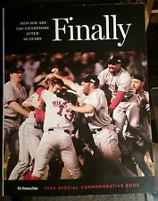FINALLY Champions After 86 Yrs ~ The Boston Globe '04 Special Commemorative Book