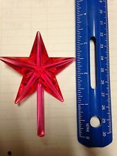 Pink Chunky Ceramic Christmas Tree Star Large