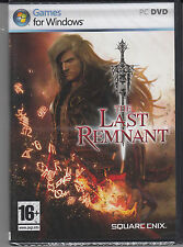Last Remnant PC Brand New Sealed Fast Shipping