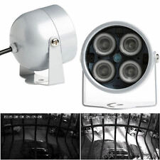 4 LED Infrared IR Night Vision Illuminator Light Lamp For IP CCTV Camera