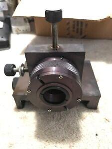 US Laser 3301-1 Fiber Optic Input Coupler Assembly Laser Engraving Part