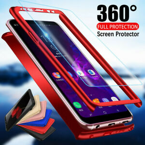 360° Full Body Hard Case+Screen Protector For Samsung Galaxy S9 S8 S10 + S7 Edge